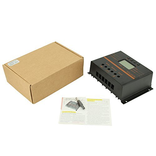 80A Solar Charge Controller, 12V 24V System 1920W Solar Power PWM Charge Controller by PowMr (Image #8)