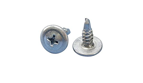 100-Pack The Hillman Group 39553 8 x 2-5//8-Inch Self Drilling Phillips Drywall Screw
