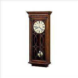 Howard Miller Kathryn Wall Clock In Tuscany Cherry Finish