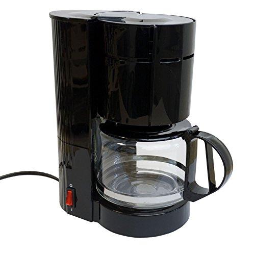 Multistore 2002 Cafetera con jarra de cristal para 12 tazas, 24 V/300 W, para viaje, camión, barco o caravana…