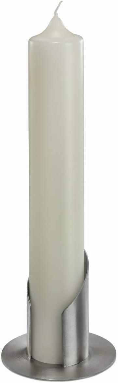 argent Bougeoirs laiton Ø 6 cm Mat