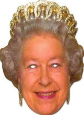 Celebrity Costumes - Celebrity Masks - The Queen