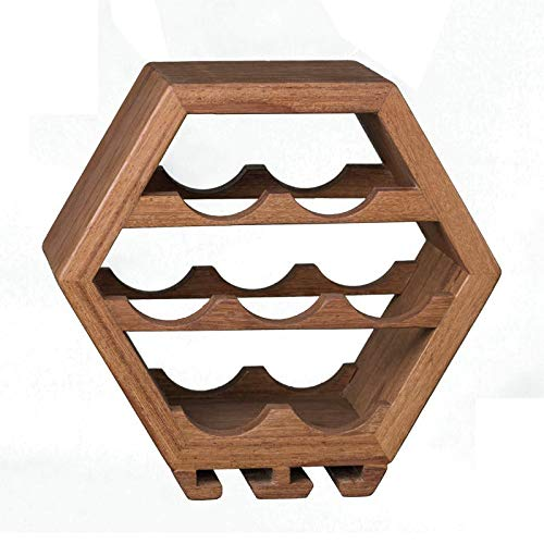 Adega HoneyComb - Nicho Parede Modular - Vinho Murundu