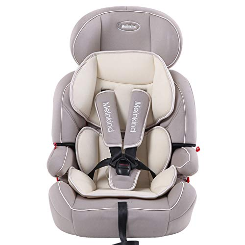 $280.00 Target Infant Car Seats Child Safety seat car Baby Baby car Simple 9 months-12 Years Old Universal Folding Safety seat,Khaki 2019