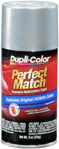 Silver Aerosol - Dupli-Color EBHA09877 Alabaster Silver Metallic Honda Perfect Match Automotive Paint - 8 oz. Aerosol