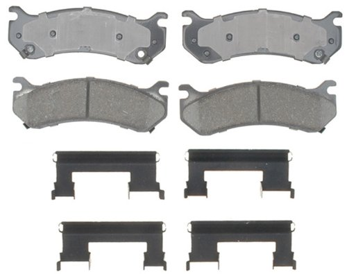 fessional Ceramic Disc Brake Pad Set ()