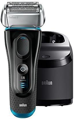 Braun Series 5 – 5090 cc eléctrica Foil Shaver para los hombres con limpia y estación de carga, afeitadora eléctrica cuchillas de afeitar, máquinas de afeitar, Afeitado inalámbrico sistema: Amazon.es: Belleza