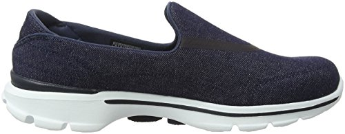 Walking 3 Blue Women's Skechers Gowalk Shoes Den wFxq6RA6