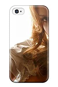Hazel J. Ashcraft's Shop 9378860K30936550 For Iphone Jessica Alba Beautiful Protective Case Cover Skin Iphone 4/4s Case Cover WANGJING JINDA