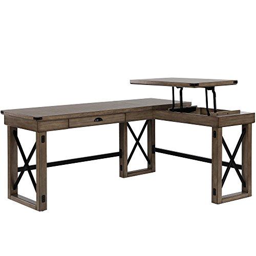 (Ameriwood Home 9552096COM Wildwood L Shaped Desk)