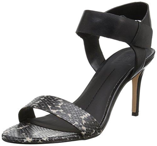 Dv By Dolce Vita Womens Breelyn Vestito Sandalo Nero / Multi