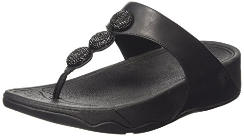 Fitflop Petra (Sugar), Women's Sandals Black (All Black 090)