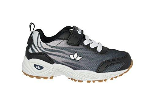 lico 360472Ben VS Negro/Blanco Deportes zapatos con cordones elásticos y cierre de velcro