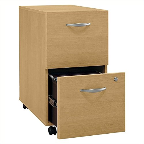 File Cabinet w Casters & Locking Bottom Drawer - Series C by Bush Business Furniture