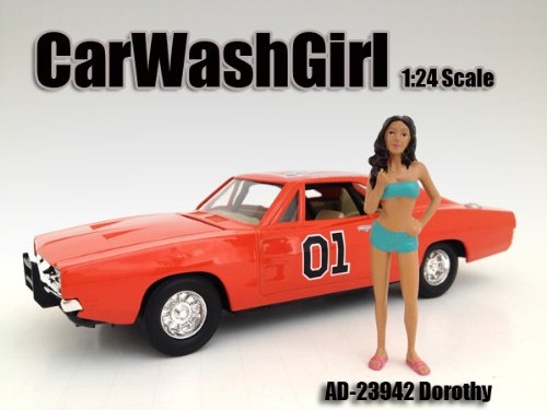 Figur 'Dorothy' [American Diorama 23942], Handbemalte Figur, 1:24 Poly Resin AD-23942