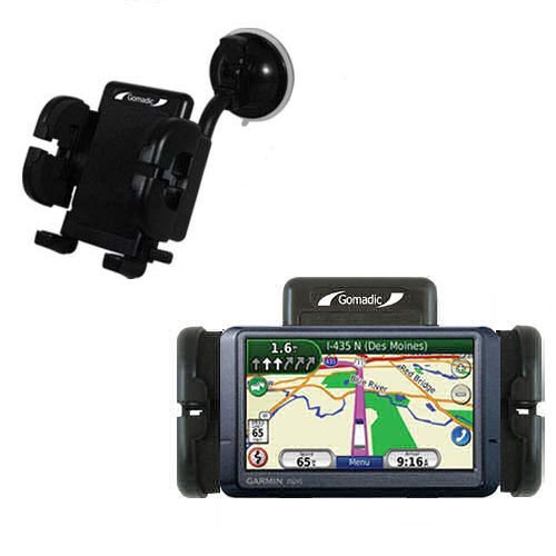 Gomadic Windshield Mount compatible with Garmin Nuvi 465T...
