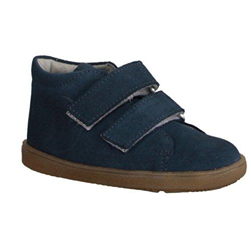 Däumling 040201M-50 - Zapatos infantiles Zapatillas de correr Talla 18 - 26, Azul, cuero