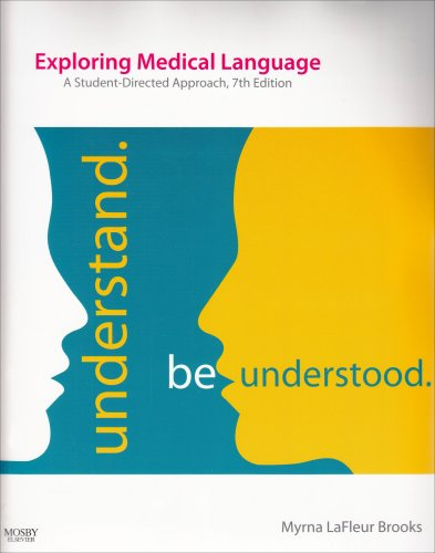 Exploring Medical Language:  A Student-Directed Approach, 7th Edition - (Text and Audio CD Package)