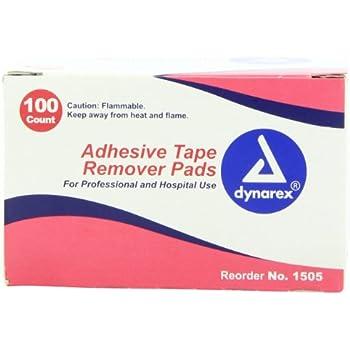 Dynarex Adhesive Tape Remover Pad - 100 ea