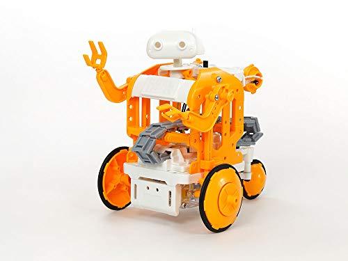 タミヤ 楽しい工作シリーズ No.232 チェーンプログラムロボット工作セット 70232