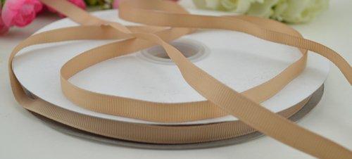 Grosgrain Ribbon 3/8'' 100yards (light brown)#40