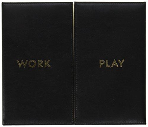 Kate Spade Desktop Weekly Calendar Folio, Black (174530) ()