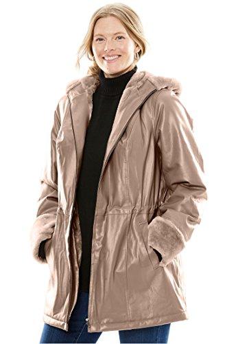 Leather Anorak Jacket - 1