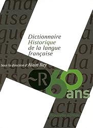 Coffret Le Dictionnaire Historique de la langue française
