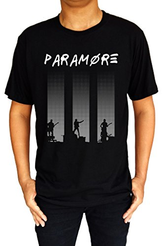 Paramore Rock Punk Emo Butterfly Band Logo Mens T-Shirt Large -