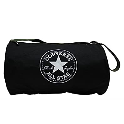 df9dacced472 Converse - Converse Duffel Bag - Standard Duffel Poly - Black   Amazon.co.uk  Shoes   Bags