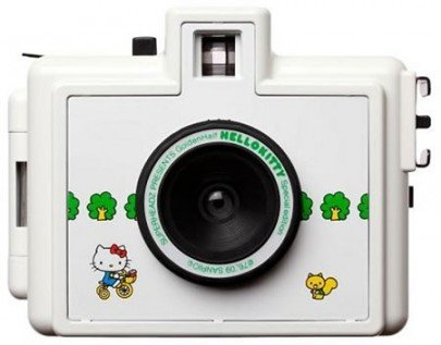 Superheadz Hello Kitty Golden Half 35mm Film Camera