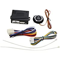 uxcell Universal Engine Start Stop System w/ Push Button Car Alarm Device DC 12V