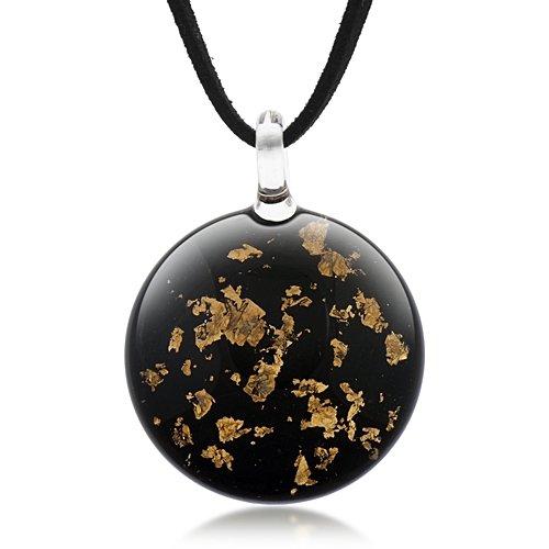 hand-blown-venetian-murano-glass-stardust-round-puff-pendant-necklace-18-20-inches