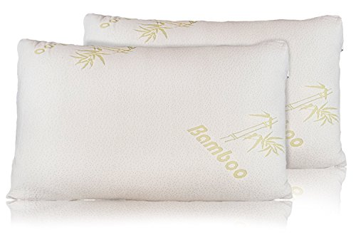 Bamboo Pillow Removable Hypoallergenic Migraines product image