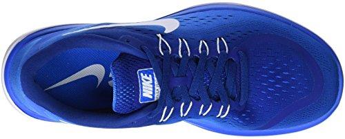 Nike Mens Flex 2017 Rn Gym Blu / Bianco-foto Blu