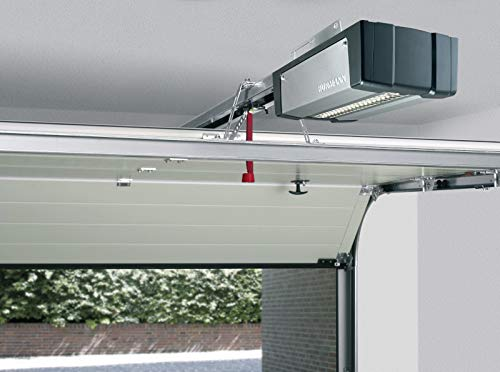 Para puerta de garaje H/örmann Supra Matic P Serie 3 BiSecur con k-carril