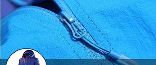 Abiti Cavallo Taglie Windbreaker Dry Blu Ultralight Solare Abbigliamento Dragon Estate Coppia And Mennen Pelle Mappa Comode Protezione Women qfFwH1aYcx