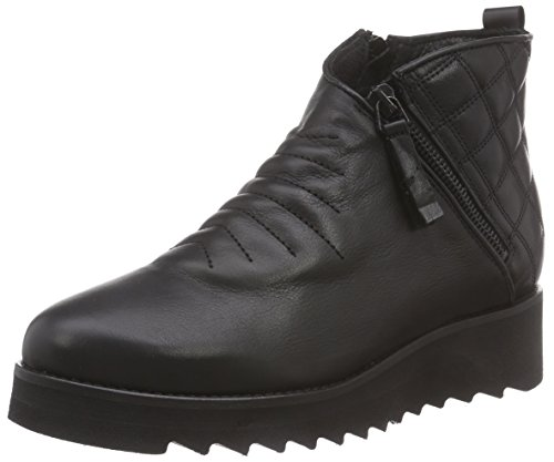 Sofie Schnoor Leather Boot, Stivaletti Donna Nero (Nero (Nero))
