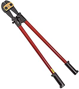 Klein Tools 63530 30-Inch Bolt Cutter - Heavy-Duty with Steel Handles