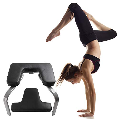 WonderView Yoga Inversion Chair, Yoga Inversion Bench Idea for Workout, Fitness and Gym