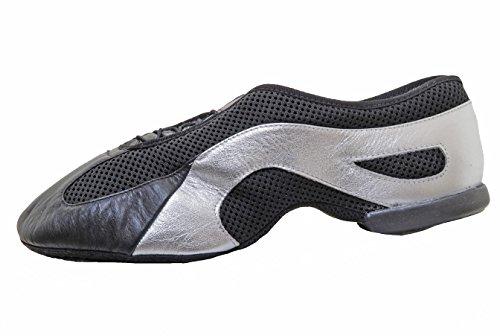 BLOCH SO485 Slipstream Slip-on Split Sole Jazz Shoe – Black (S0485 485)