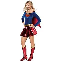 Rubie's DC Deluxe Supergirl Teen Costume