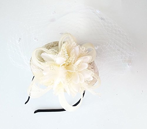 f95667a94ba PREV NEXT Home — Coolwife Fascinator Hats Pillbox Hat British Bowler Hat  Flower Veil Wedding ...