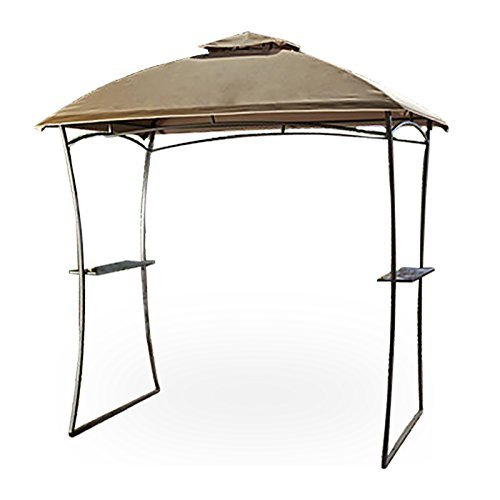 Garden Winds Domed Top Grill Gazebo Replacement Canopy, Rip Lock 350