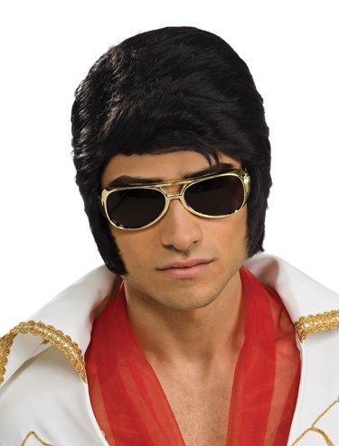 Rubie's Costume Elvis Now Deluxe Wig, Black, One Size