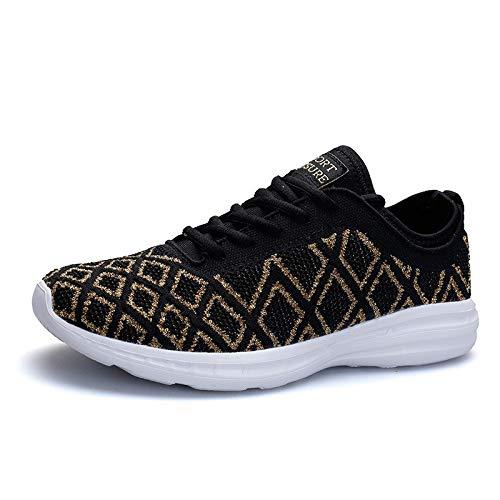 HCBYJ Chaussures élastiques Automne et Hiver, Chaussures de Sport, Chaussures de Sport, Chaussures de Sport, Chaussures de Sport antidérapantes Respirantes et Anti-dérapantes