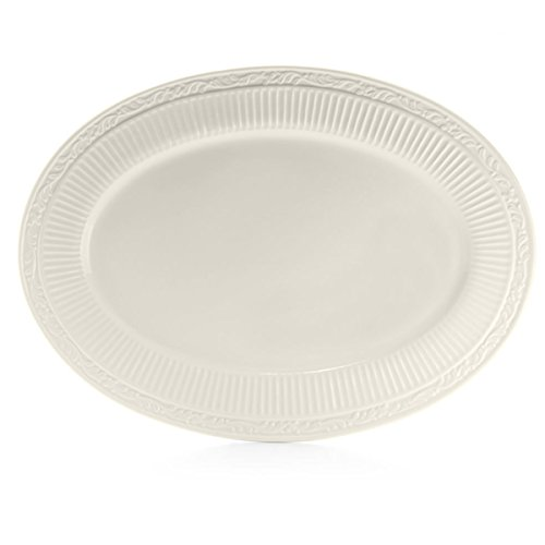 (Mikasa Italian Countryside Oval Serving Platter, 18-Inch)