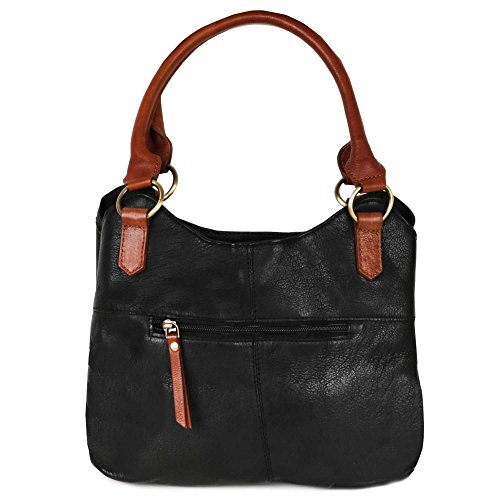 Bag Black Womens tan Bolla Shoulder Fern vtI58x8