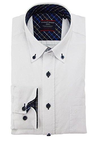 CASAMODA Comfort Fit Hemd extra langer Arm weiß AL 69