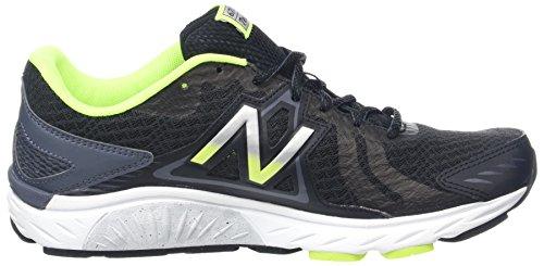 Nieuw Evenwicht Mannen M670c Loopschoenen, Zwart (zwart / Grijs / M670cb5)